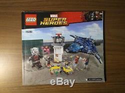 100% Complete & Color Sorted LEGO Marvel 76051 Super Hero Airport Battle