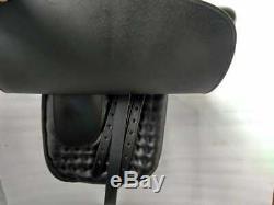 18 Inch Ladies Side Saddle Black Color Complete Set
