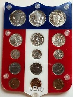 1951,1952,1953 Complete Silver Proof Sets In Colorful Shield See Apollo Coins