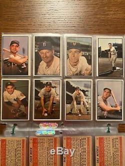 1953 Bowman Color Baseball Complete Set