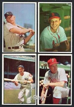 1953 Bowman Color Baseball Complete Set 1-160 MICKEY MANTLE! VG/EX to EX Cond