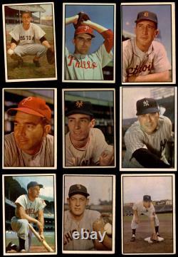 1953 Bowman Color Baseball Complete Set 4.5 VG/EX+