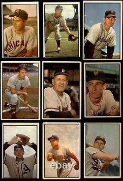 1953 Bowman Color Baseball Complete Set 4 VG/EX