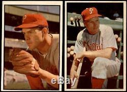 1953 Bowman Color Baseball Complete Set 6 EX/MT