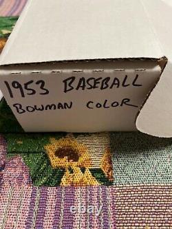 1953 Bowman Color Baseball Complete Set RARE SET