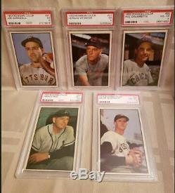 1953 Bowman Color Baseball Partial 32 Card Set (20% Complete)
