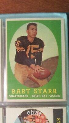 1958 Topps Football Complete set 132 EX. All cards included. Strong color/image