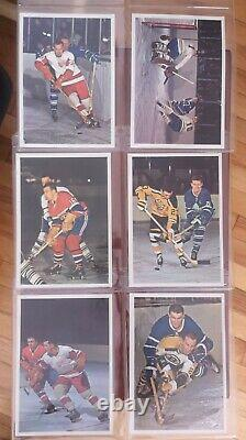 1963-64 Hockey Stars in Action Toronto Star- complete set of 42 color photos