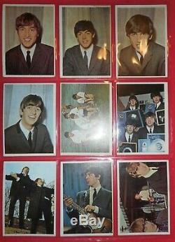 1964 Beatles Color Complete (64) Card Set Topps (high Grade)