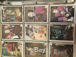 1966 TOPPS BATMAN COLOR PHOTOS TV Show 55 CARD COMPLETE SET EX Adam West
