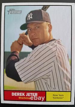 2010 Topps Heritage Baseball Complete Color Swap SSP Set