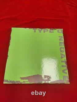 2011 Type O Negative None More Negative Colored Vinyl 6 LP Box Complete Set