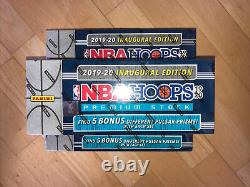 2019-20 NBA Hoops Premium Stock COMPLETE SET Sealed #1-300 withColor Pulsar Pack
