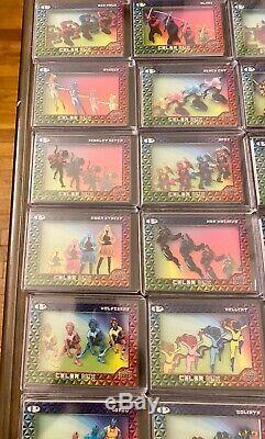 2019 Marvel Premier Semi Complete Color Box Set 44 out of 45 Cards SP SSP