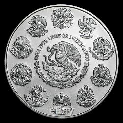 2019 Mexico Libertad Complete Set of 4 x 1 Ounce Silver Coin Colorized Series