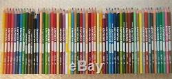 59 Laurentien Colored Pencil Crayons Box Set Complete High Numbers Faber Castell