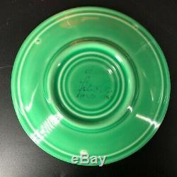 (6) Vintage Mid Century Fiesta ware Demitasse Cup & Saucer Sets Complete Colors