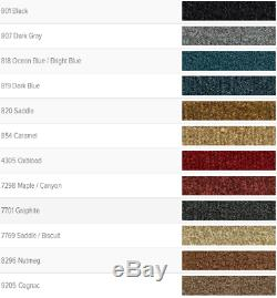 ACC 76-86 JEEP CJ-7 11-PC CARPET RUG with MASS BACKING COMPLETE SET CHOOSE COLOR