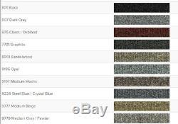 ACC 90-93 Mazda Miata Convertible Complete Molded Carpet Set CHOOSE COLOR