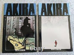 AKIRA Complete Set #1-38 Epic Comics Katsuhiro Otomo Great Set Detailed Pics