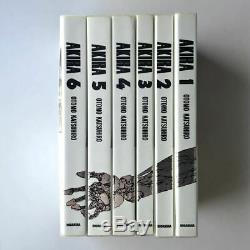 AKIRA Full Color Ver. Technicolor All 6 Volumes Complete Set Books First edition