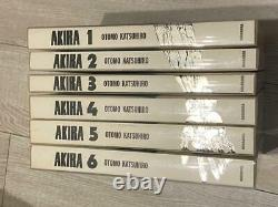 AKIRA Full color ver. Technicolor All 6 volumes complete set First edition Japan