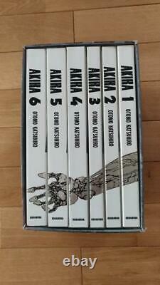 AKIRA Full color ver Technicolor All 6 volumes complete set First edition Rare