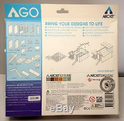 ARCKIT GO 160+ Pieces lot of 2 & Colors 175+ Pieces, all three sets COMPLETE