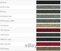 Acc 87-95 Jeep Wrangler Complete Carpet Floor Rug Set Choose Color