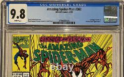 Amazing Spiderman 362 CGC 9.8 2nd Carnage Venom Appearance Complete Your Set 361