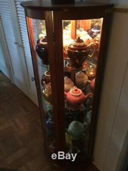 Antique teapot collection, rare, from McCormick Tea, 16 colors, COMPLETE SET