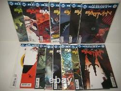 BATMAN #1-110 + Extras Complete Set TOM KING Run Lot Issues DC Rebirth 93 ++