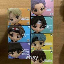 BTS TinyTAN Q Posket A color 7 types Complete Set Banpresto Qposket Figure