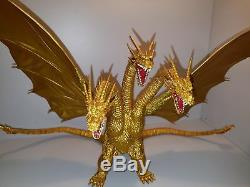 Bandai S. H. MonsterArts Godzilla King Ghidorah Special Color Complete Set