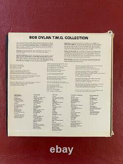 Bob Dylan Strip Tease TMOQ Complete 10 Red & Clear Color Vinyl LP Box Set
