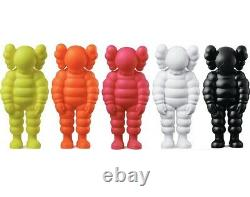 Brand New Rare Kaws What Party Vinyl Figures Complete Set All 5 Colors In Hand
