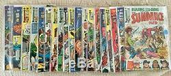 Bronze COMPLETE Set 1971 SKYWALD 25 Cent SQUAREBOUND Color Lot/20 Comics