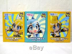 COMPLETE SET Basic Color 2020 TOONIZE Vocaloid Miku Len Rin Figure Prize Japan