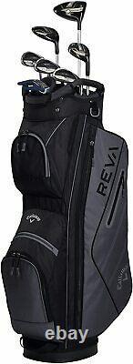 Callaway Golf 2021 Women's REVA 8-Piece Complete Golf Set COLOR Black
