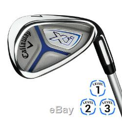 Callaway Junior XJ2 Complete Golf Set 2018 Choose Color & Dexterity