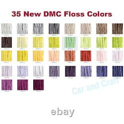 Complete Full Set, 515 Colors France DMC Embroidery Floss Cross Stitch Solid