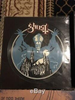 Complete Ghost Vinyl Collection Lot Colored Limited Meliora Box Set Signed B. C