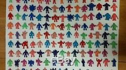 Complete Mixed Set of YSNT Flesh & Colored M. U. S. C. L. E. Men (#1-235) Lot #1