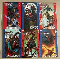 Complete Set Oop Softcover Sc Tpb Ultimate Spiderman Vol 1-22 Htf Rare