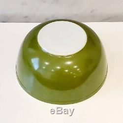 Complete Set of 4 Vintage Pyrex Nesting Mixing Bowls Classic Colors Rare