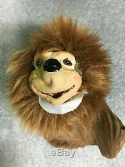 Complete Set of Rock-afire 9 Plush and Rubber Dolls with Props