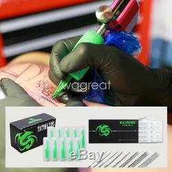 Complete Tattoo Kit 4 Machine Gun Power Supply Color Ink Set Needles D176GD w