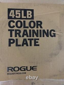 Complete set 320lb Rogue Color LB Training 2.0 Plates (2) 25-35-45-55lb