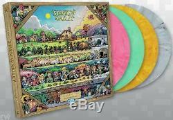 ConcernedApe Stardew Valley Vinyl Record Soundtrack 4 LP Complete BOX SET Color