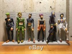 DXF DX Figure Passione Bucharati Team Complete set Original color ver. JoJo